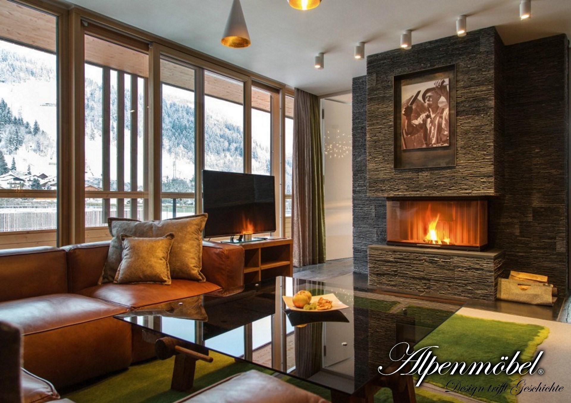 Alpenm bel design trifft geschichte wohn t raumdesign for Hotelzimmer deko