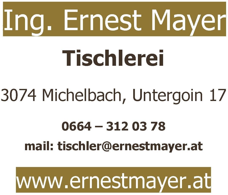 Tischlerei Ernest Mayer